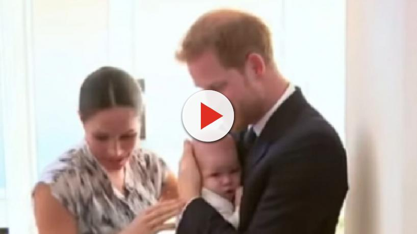 Meghan Markle says Archie has ginger colored hair like his father Prince Harry