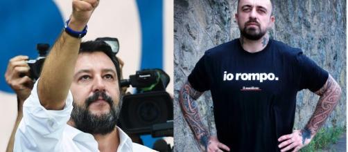 Chef Rubio, hater gli augura il cancro, lui attacca Salvini: 'Stanco dei tuoi sostenitori'