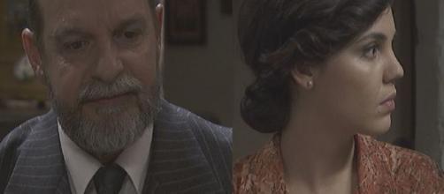 Il Segreto anticipazioni spagnole: Raimundo torna a Puente Viejo, Marcela viene a sapere del tradimento del marito.