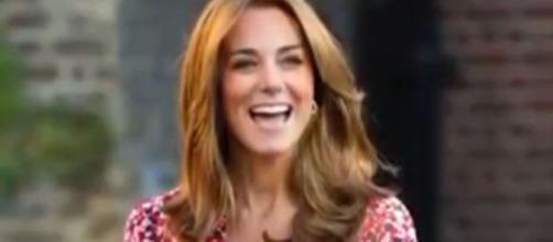 Kate Middleton helping needy children just like Princess Diana.(Image Source:Global News-YouTube.)