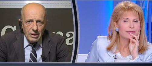 Otto e Mezzo: scontro tra Alessandro Sallusti e Lilli Gruber