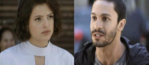Téo descobre que Jô é uma assassina em 'A Dona do Pedaço'. (Reprodução/TV Globo)