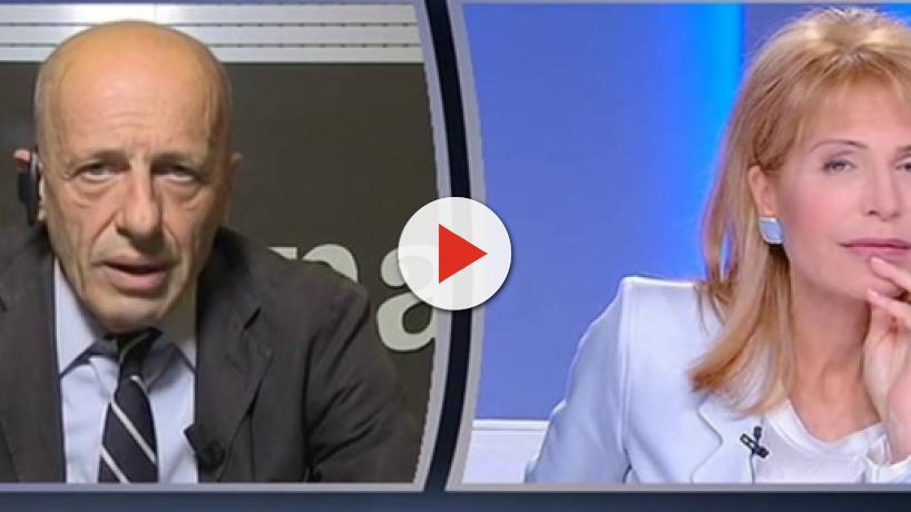 Otto e Mezzo, Sallusti vs Gruber: ''Manovra da incubo, nessuno esulta a parte il governo'