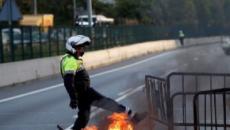 20 imágenes de la huelga general en Cataluña para protestar por la sentencia del 'procés'