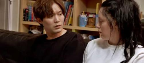 '90 Day Fiance' Jihoon gets up to mischief, Deavan can't leave him alone - image credit - TLC / YouTube