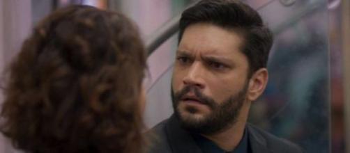 Diogo tem traição revelada a Nana. (Reprodução/ TV Globo)