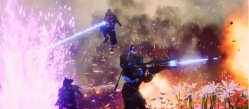 Guardians melting enemies with their Divinity. [Image source: MoreConsole/YouTube]