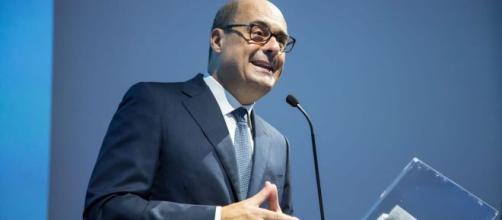 Il Presidente della Regione Nicola Zingaretti