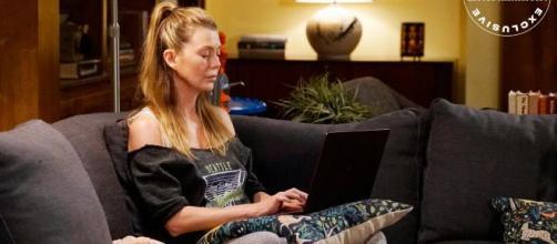 Meredith Grey mette in dubbio i reali sentimenti che la legano ad Andrew