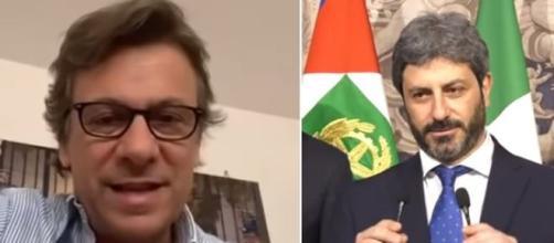 Nicola Porro si scaglia contro Roberto Fico nel corso di Zuppa di Porro'