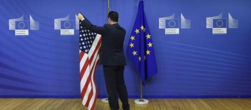 Unión Europea también amenaza a EU con imponer aranceles. - lahoguera.mx