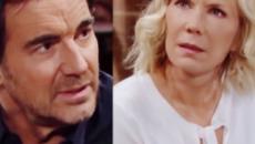 Beautiful, spoiler Usa: Brooke e Ridge vicini all'addio, Thomas non vuole perdere Douglas