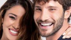 Belen Rodriguez e Stefano De Martino: 'fuga' in un posto top secret, Santiago coi nonni