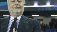 De Laurentiis: 'Difficile competere con Juve ed Inter che si indebitano'