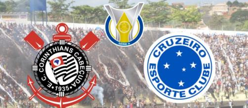 Corinthians x Cruzeiro terá transmissão ao vivo e exclusiva do pay-per-view. (Fotomontagem)