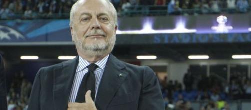 De Laurentiis:'Difficile competere con Juve ed Inter che si indebitano'
