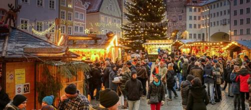 One of the quaint Christmas Markets of Europe [Image by Albrecht Fietz from Pixabay]