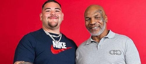 Andy Ruiz e Mike Tyson, presente e passato dei pesi massimi