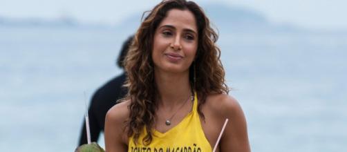 Camila Pitanga relembrou sua relação com Domingos Montagner. (Reprodução/TV Globo)