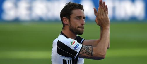 Claudio Marchisio saluta il calcio all'Allianz Stadium con una conferenza stampa