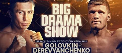 Gennady Golovkin vs Sergiy Derevyanchenko, domenica 6 ottobre su DAZN