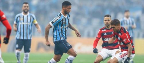Grêmio e Flamengo fazem o duelo brasileiro na semifinal da Libertadores. (Lucas Uebel/Grêmio)