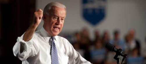 Joe Biden rallys against attacks from Rudy Guiliani by writing letter to stop him appearing on networks. [Image via Penn State/Flickr]