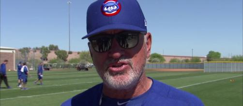 Joe Maddon could become the LA Angels next skipper. [Image Credit] CBS Chicago/YouTube