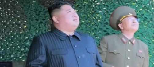 Kim Jong-Un oversaw short-range projectiles launch: KCNA. [Image source/ARIRANG NEWS YouTube video]