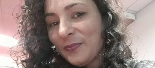 Luciene Ferreira Sena, de 39 anos, teve 80% do corpo queimado. (Reprodução/Facebook)