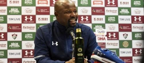 Marcão pode ser efetivado como treinador. (Reprodução/Mailson Santana/fluminense.com.br)