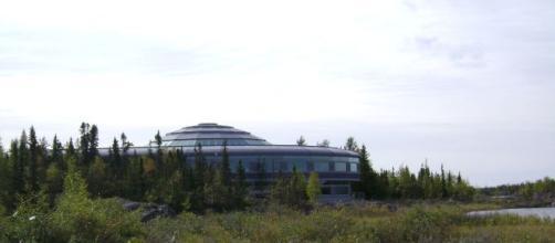 Northwest Territories Legislative Building in Yellowknife. [Image via Pete - Flickr]