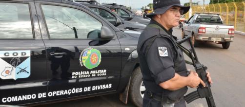 O homem foi preso pela Polícia Militar. (Arquivo Blasting News)
