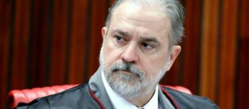 O PGR Augusto Aras defende a nova abertura do caso Adélio Bispo. (Divulgação/TSE)