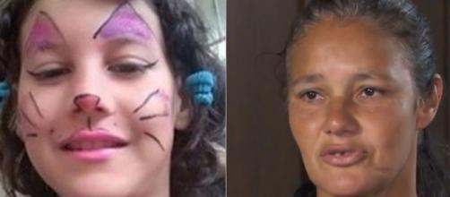 Raíssa Eloá Caparelli Dadona, de 9 anos, foi morta no último domingo (29). (Reprodução/Rede Record/TV Globo)