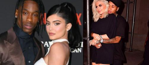 Travis Scott, Kylie Jenner e Tyga