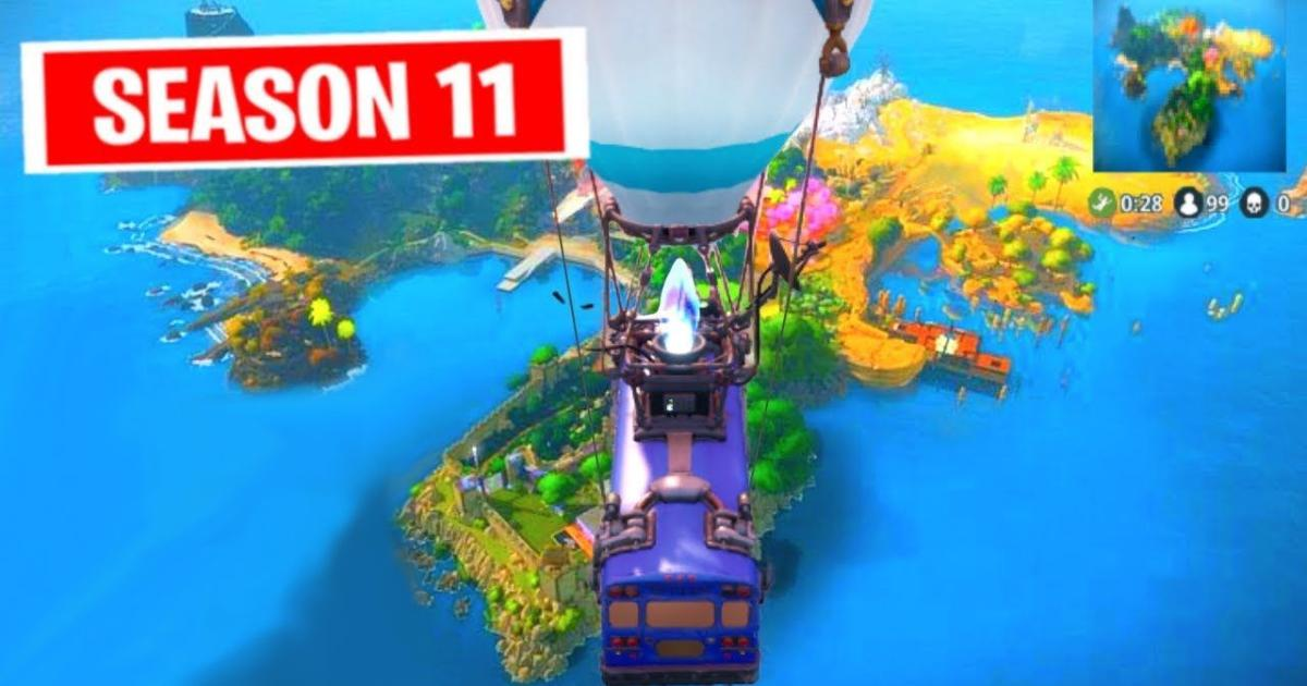 'Fortnite' map to get a huge redesign for Season 11