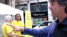 Exhumación de Franco: Detenido Cake Minuesa al intentar colarse en el Valle de los Caídos
