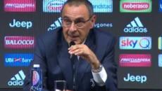 Juventus, Sarri: 'A fine partita i giocatori mi hanno detto che si sono divertiti'