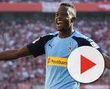 Inter su Denis Zakaria del Borussia Monchengladbach