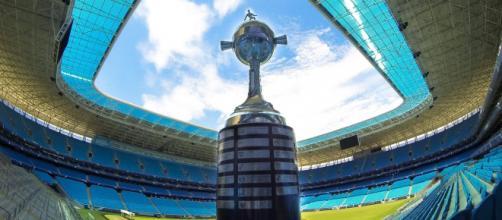 Crise no Chile pode modificar local de decisão da Taça Libertadores deste ano. (Reprodução/Grêmio)