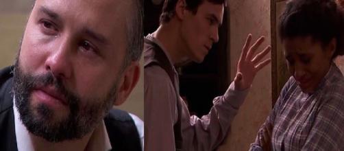 Una Vita, trame iberiche: Felipe si lascia amare da Genoveva, Santiago violento con Marcia