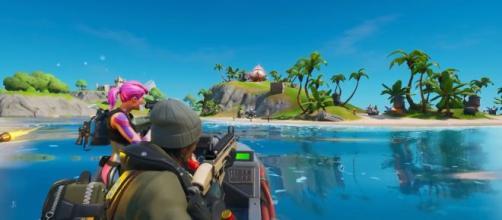 "Best landing spots in ""Fortnite"" Chapter 2. Image Credit: In-game screenshot"