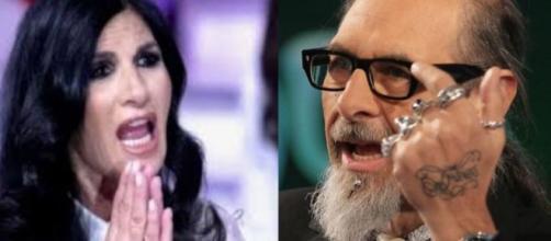 Non è l'arena: scontro tra Pamela Prati e Roberto D'Agostino