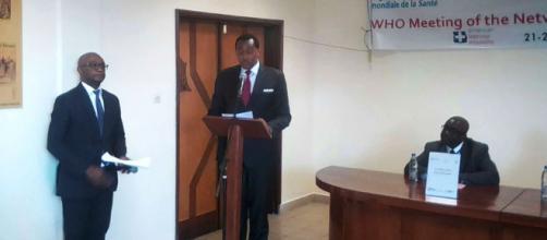 Premère réunion du réseau des laboratoires chargés du diagnostic moléculaire du Buruli à Yaoundé (c) Odile Pahai