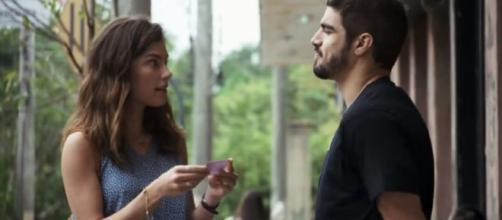 Rock abrirá seu coração para Joana. (Reprodução/TV Globo)