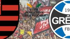 Flamengo x Grêmio: transmissão ao vivo na Globo, nesta quarta (23), às 21h30