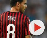 Jesus Suso potrebbe lasciare il Milan