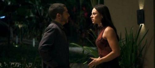 Camilo e Vivi viverão momentos de tensão em 'A Dona do Pedaço'. (Reprodução/TV Globo)