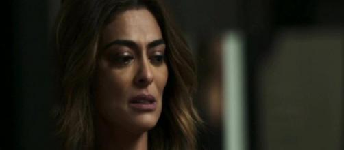 Maria da Paz decide assumir culpa por Josiane. (Reprodução/TV Globo)